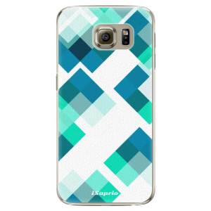 Plastové pouzdro iSaprio Abstract Squares 11 na mobil Samsung Galaxy S6