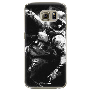 Plastové pouzdro iSaprio Astronaut 02 na mobil Samsung Galaxy S6