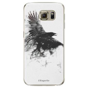 Plastové pouzdro iSaprio Dark Bird 01 na mobil Samsung Galaxy S6