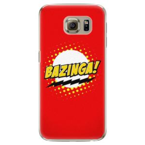 Plastové pouzdro iSaprio Bazinga 01 na mobil Samsung Galaxy S6
