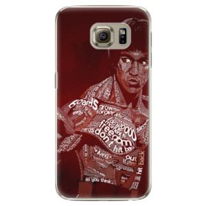 Plastové pouzdro iSaprio Bruce Lee na mobil Samsung Galaxy S6