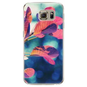 Plastové pouzdro iSaprio Autumn 01 na mobil Samsung Galaxy S6