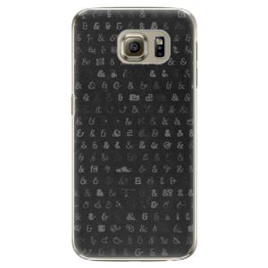 Plastové pouzdro iSaprio Ampersand 01 na mobil Samsung Galaxy S6