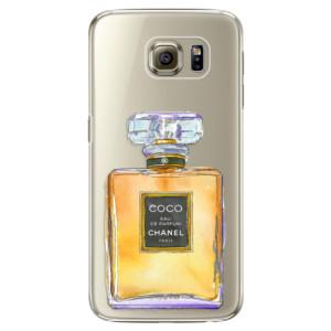Plastové pouzdro iSaprio Chanel Gold na mobil Samsung Galaxy S6