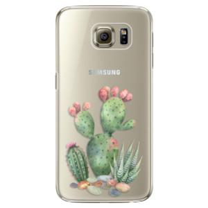 Plastové pouzdro iSaprio Cacti 01 na mobil Samsung Galaxy S6