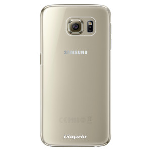 Plastové pouzdro iSaprio 4Pure mléčné bez potisku na mobil Samsung Galaxy S6