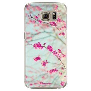 Plastové pouzdro iSaprio Blossom 01 na mobil Samsung Galaxy S6 Edge