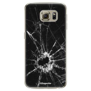 Plastové pouzdro iSaprio Broken Glass 10 na mobil Samsung Galaxy S6 Edge
