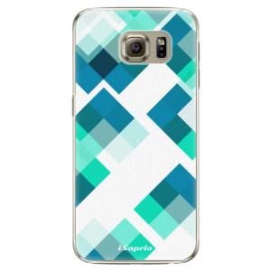 Plastové pouzdro iSaprio Abstract Squares 11 na mobil Samsung Galaxy S6 Edge