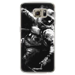 Plastové pouzdro iSaprio Astronaut 02 na mobil Samsung Galaxy S6 Edge