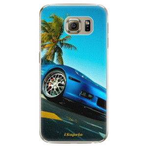 Plastové pouzdro iSaprio Car 10 na mobil Samsung Galaxy S6 Edge