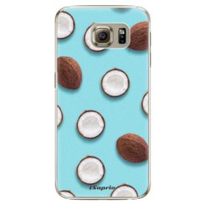 Plastové pouzdro iSaprio Coconut 01 na mobil Samsung Galaxy S6 Edge
