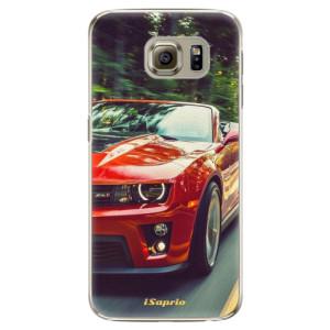Plastové pouzdro iSaprio Chevrolet 02 na mobil Samsung Galaxy S6 Edge