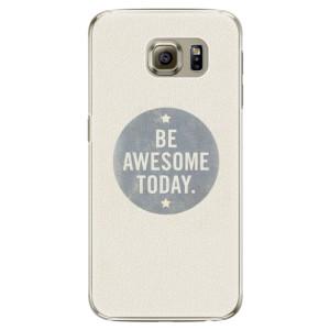 Plastové pouzdro iSaprio Awesome 02 na mobil Samsung Galaxy S6 Edge