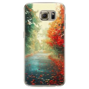 Plastové pouzdro iSaprio Autumn 03 na mobil Samsung Galaxy S6 Edge