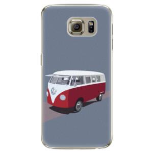 Plastové pouzdro iSaprio VW Bus na mobil Samsung Galaxy S6 Edge