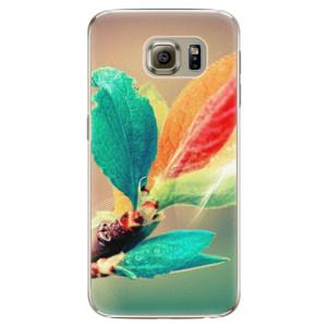 Plastové pouzdro iSaprio Autumn 02 na mobil Samsung Galaxy S6 Edge