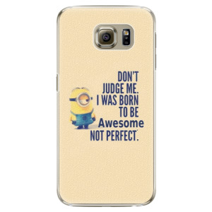 Plastové pouzdro iSaprio Be Awesome na mobil Samsung Galaxy S6 Edge