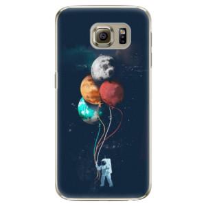 Plastové pouzdro iSaprio Balloons 02 na mobil Samsung Galaxy S6 Edge