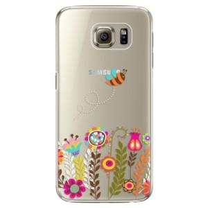 Plastové pouzdro iSaprio Bee 01 na mobil Samsung Galaxy S6 Edge