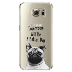 Plastové pouzdro iSaprio Better Day 01 na mobil Samsung Galaxy S6 Edge