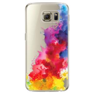Plastové pouzdro iSaprio Color Splash 01 na mobil Samsung Galaxy S6 Edge