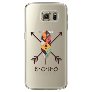 Plastové pouzdro iSaprio BOHO na mobil Samsung Galaxy S6 Edge