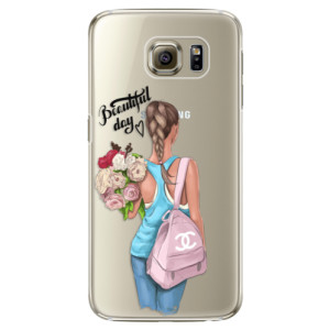 Plastové pouzdro iSaprio Beautiful Day na mobil Samsung Galaxy S6 Edge