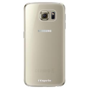 Plastové pouzdro iSaprio 4Pure mléčné bez potisku na mobil Samsung Galaxy S6 Edge