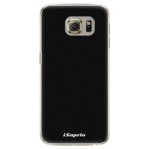 Plastové pouzdro iSaprio 4Pure černé na mobil Samsung Galaxy S6 Edge