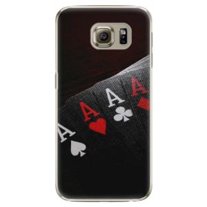Plastové pouzdro iSaprio Poker na mobil Samsung Galaxy S6 Edge