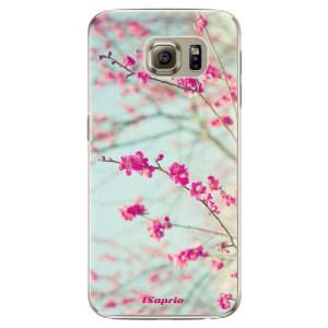 Plastové pouzdro iSaprio Blossom 01 na mobil Samsung Galaxy S6 Edge Plus