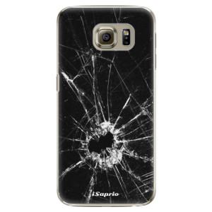 Plastové pouzdro iSaprio Broken Glass 10 na mobil Samsung Galaxy S6 Edge Plus