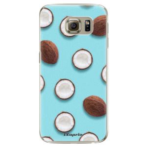 Plastové pouzdro iSaprio Coconut 01 na mobil Samsung Galaxy S6 Edge Plus