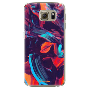 Plastové pouzdro iSaprio Color Marble 19 na mobil Samsung Galaxy S6 Edge Plus