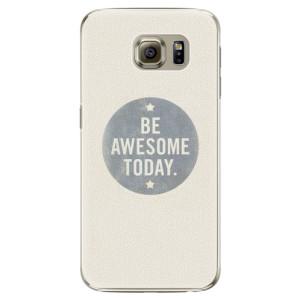 Plastové pouzdro iSaprio Awesome 02 na mobil Samsung Galaxy S6 Edge Plus