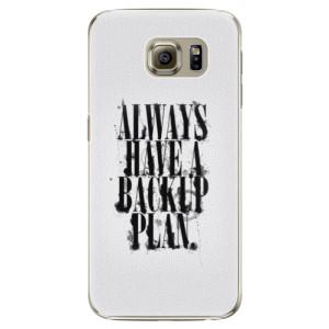 Plastové pouzdro iSaprio Backup Plan na mobil Samsung Galaxy S6 Edge Plus