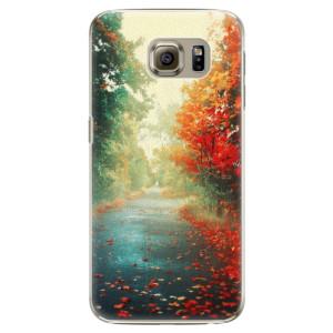 Plastové pouzdro iSaprio Autumn 03 na mobil Samsung Galaxy S6 Edge Plus
