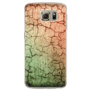 Plastové pouzdro iSaprio Cracked Wall 01 na mobil Samsung Galaxy S6 Edge Plus