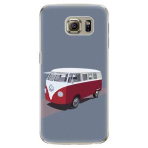 Plastové pouzdro iSaprio VW Bus na mobil Samsung Galaxy S6 Edge Plus