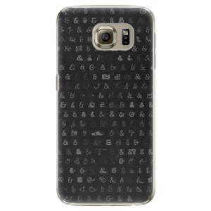 Plastové pouzdro iSaprio Ampersand 01 na mobil Samsung Galaxy S6 Edge Plus
