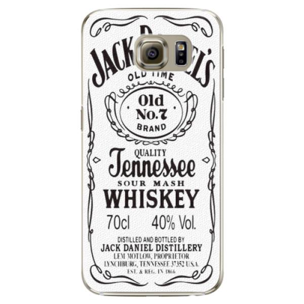 Plastové pouzdro iSaprio Jack White na mobil Samsung Galaxy S6 Edge Plus (Plastový obal, kryt, pouzdro iSaprio Jack White na mobilní telefon Samsung Galaxy S6 Edge Plus)