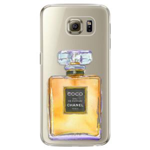 Plastové pouzdro iSaprio Chanel Gold na mobil Samsung Galaxy S6 Edge Plus