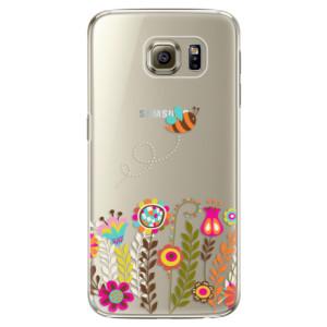 Plastové pouzdro iSaprio Bee 01 na mobil Samsung Galaxy S6 Edge Plus