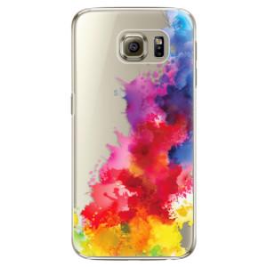 Plastové pouzdro iSaprio Color Splash 01 na mobil Samsung Galaxy S6 Edge Plus