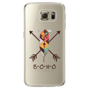 Plastové pouzdro iSaprio BOHO na mobil Samsung Galaxy S6 Edge Plus