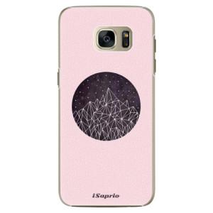 Plastové pouzdro iSaprio Digital Mountains 10 na mobil Samsung Galaxy S7