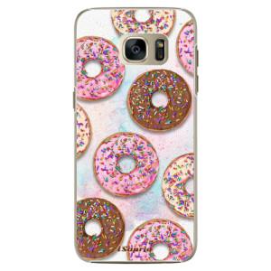 Plastové pouzdro iSaprio Donuts 11 na mobil Samsung Galaxy S7