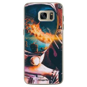 Plastové pouzdro iSaprio Astronaut 01 na mobil Samsung Galaxy S7