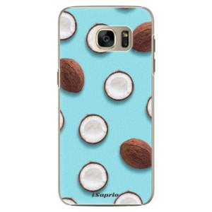 Plastové pouzdro iSaprio Coconut 01 na mobil Samsung Galaxy S7